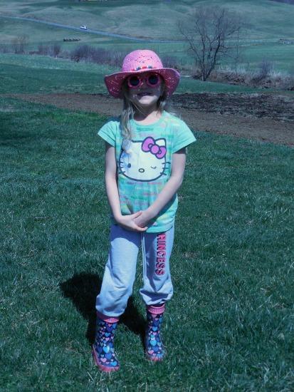 Ella's garden outfit