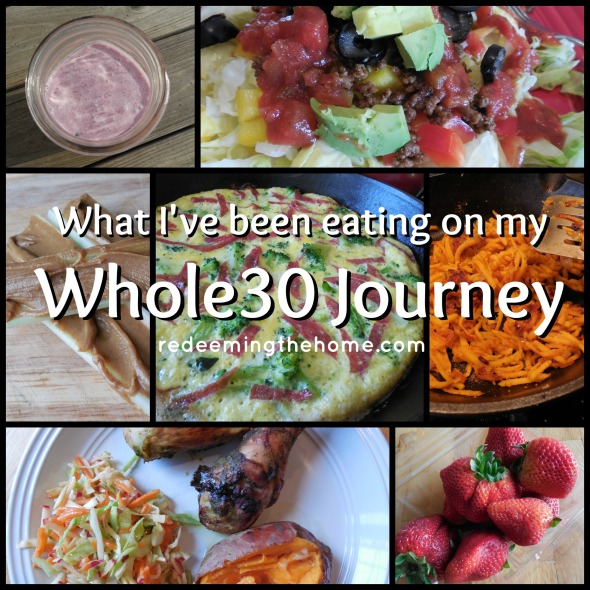 whole30 collage